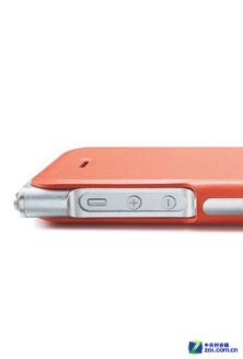 送钢化膜 苹果iPhone5s牛皮保护套358元