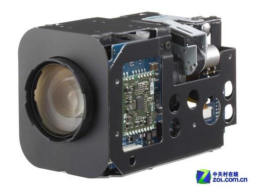 索尼fcb-cx490dp模拟监控摄像机为一体机结构设计