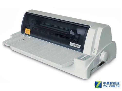 富士通DPK890最大的特色便在于装配了富士通特有的自动浮动打印头。该打印头是富士通的专利技术,可根据纸张的厚度自动调整打印间隙,打印纸张的最大厚度增大到3mm,从而能够适应大多数证件打印环境,使得过往证件打印中的存在问题迎刃而解。 无级变倍压缩打印功能,可按照(N-1)/N的任意压缩比打印,可全面满足客户不同打印需求。同时,这款产品还可根据实际打印内容,智能化选择最合适的压缩比,其压缩对图像数据和字符同时有效,使用户充分感受到只要用一台机器即可实现多种业务。