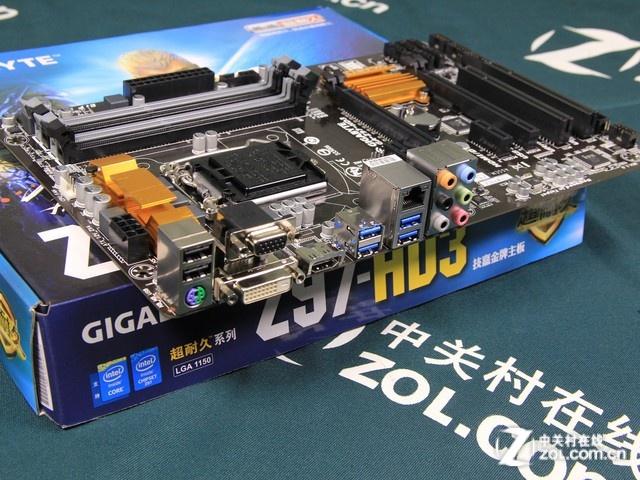 实用性能级显卡 技嘉ga-z97-hd3仅755元