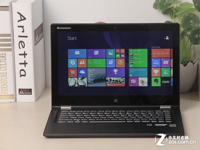 联想yoga2 13是一款设计感出众的翻转2合1笔记本,拥有1080p的