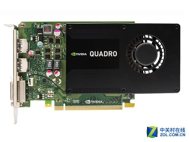 绘图显卡 NVIDIA Quadro K2200售2399元