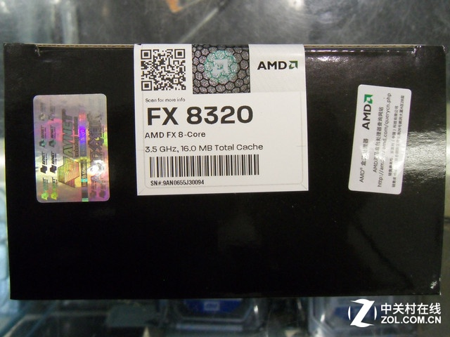 AMD精品八核 FX-8320处理器京东售949