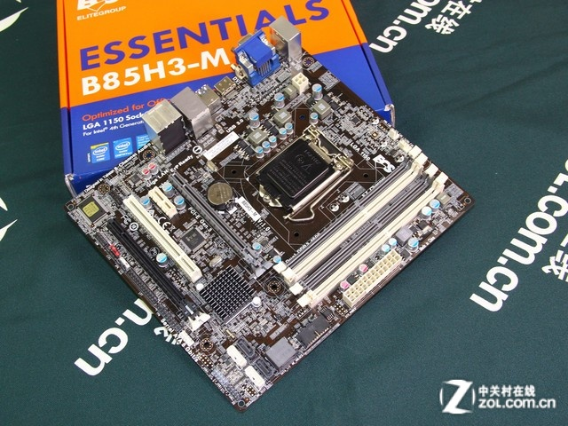 全新LGA1150接口 精英B85卖场报价599元