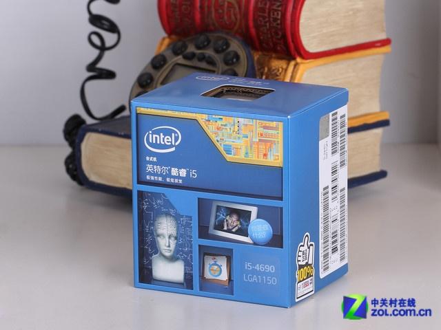 酷睿i5 4690 包装图