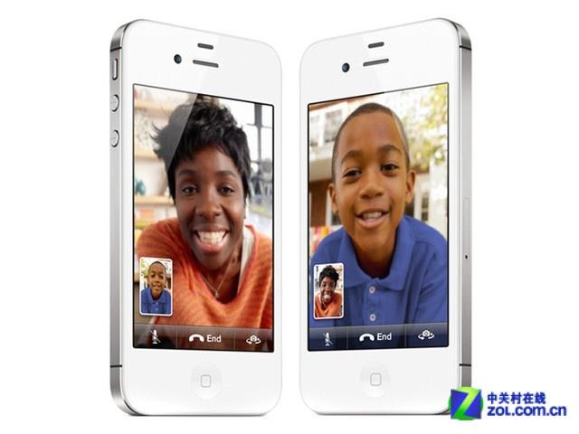 iPhone 4S 白色 外观图