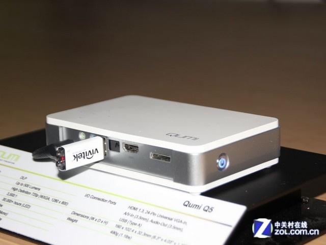 高清LED微投 丽讯QUMI Q5亚马逊3999元