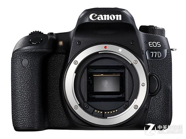 全像素双核对焦 佳能 EOS 77D单机热销