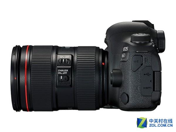 搭载24-105mm镜头 佳能6DII京东18499元